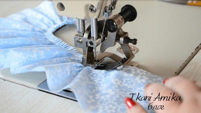 Швейное приспособление для сборки