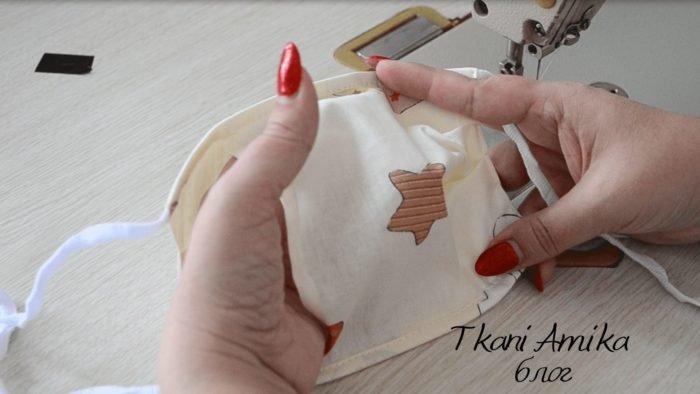 Как сшить защитную маску с съёмными вкладышами
