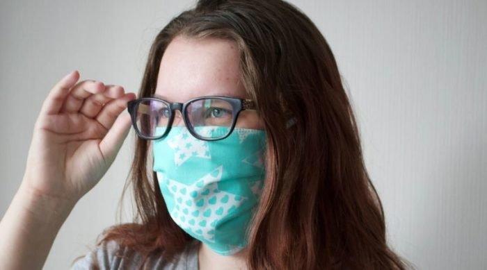Защитная маска из бязи