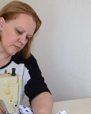 Как я начала шить