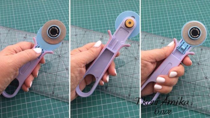 Бюджетный роликовый нож