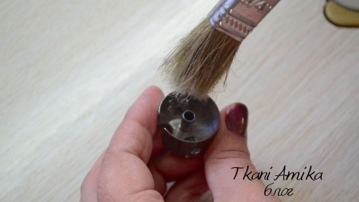 Чистка челнока