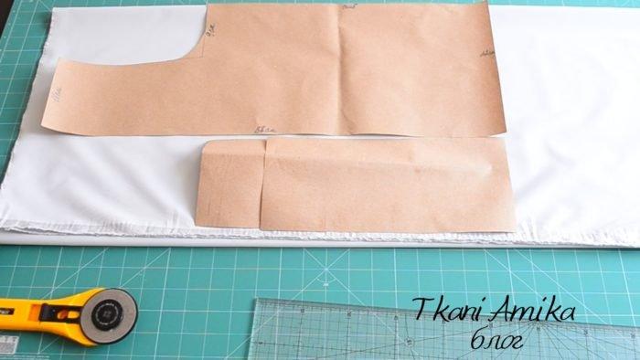 Выкройки для пошива сумки из дюспо